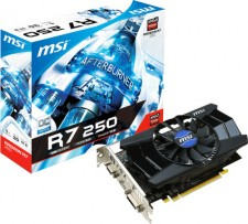 MSI AMD/ATI R7 250 1GD5 OC 1 GB GDDR5 Graphics Card