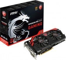 MSI AMD/ATI R9 290X GAMING 4G 4 GB GDDR5 Graphics Card