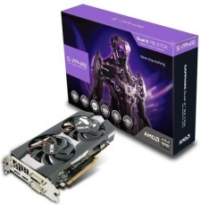 Sapphire AMD/ATI Radeon Dual-X R9 270X with Boost OC 2 GB 2 GB DDR5 Graphics Card