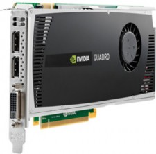 HP NVIDIA Nvidia Quadro 4000 2 GB DDR3 Graphics Card