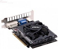 MSI NVIDIA N730-4gd3 2 GB DDR3 Graphics Card