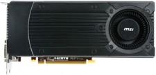 MSI NVIDIA N760-2GD5/OC (GeForce GTX 760) 2 GB GDDR5 Graphics Card